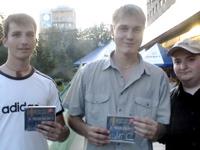 Russian Interpreters, Roma, Kostya, Yuiry